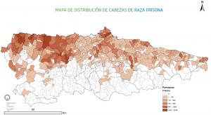 Cabezas Frisona Asturias
