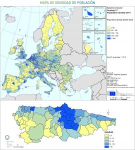 Europa - Densidad