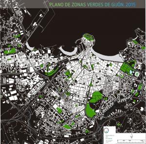 Gijón Zonas verdes