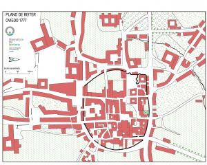 Plano ciudad de Oviedo