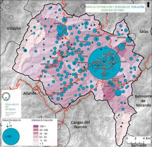 Tineo - Población